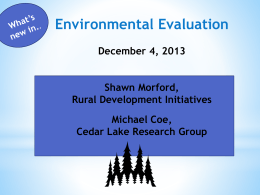 powerpoint for OPEN December meeting on Enviro