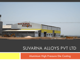Die Casting - Suvarna Alloys Pvt. Ltd.