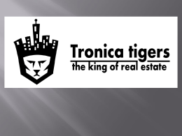 location - Tronica Tigers