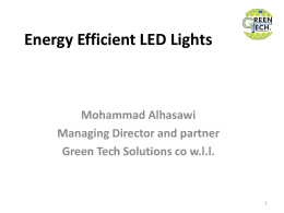 to - Green Tech Solutions
