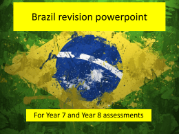 Brazil revision powerpoint