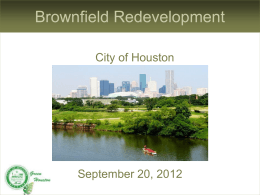 What is a Brownfield