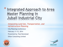 - Jubail 2nd International City Planning Forum