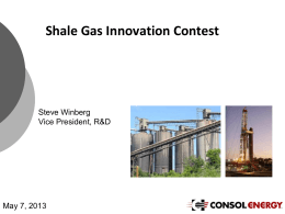 File - Shale Gas Innovation and Commercialization Center