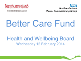 (Attachment: 7)Better Care Fund Presentation