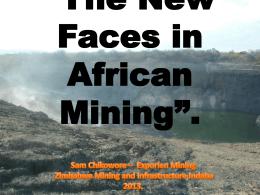 Sam Chikowore - Zimbabwe Mining Indaba
