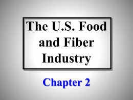 Chapter 2 Powerpoint - Agricultural & Applied Economics