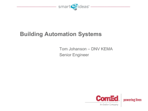 What`s new in Building Automation Systems