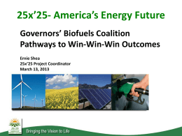 PPTX - Governors` Biofuels Coalition