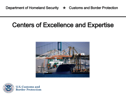 Centers of Excellence & Expertise (CEE)
