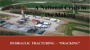 Fracking Powerpoint Presentation (May 8, 2014)