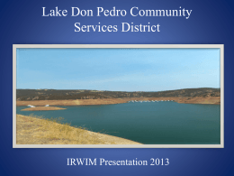 Lake Don Pedro Community Services District