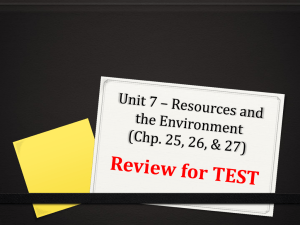PPT Review - Unit 7 - chp 25_ 26_ 27