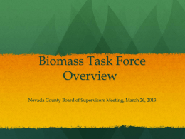 Biomass Presentation - Eubanks