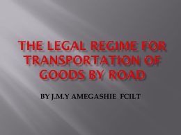 THE_LEGAL_REGIME_FOR_TRANSPORTATION_OF_GOODS