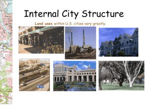Internal City Structure