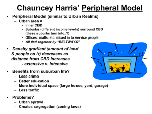 Chauncey Harris* Peripheral Model