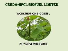 creda-hpcl biofuel limited
