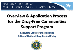 Overview & Application Process for the Drug