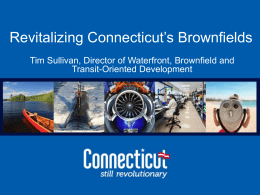 Tim Sullivan, Director of Waterfront, Brownfield and Transit