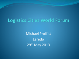 Logistics Cities World Forum