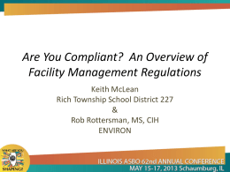 Are You Compliant? - Electronic Resource Center