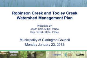 Rob_Tooley Watershed Plan