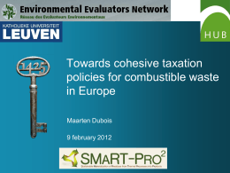 the PPT - Environmental Evaluators Network