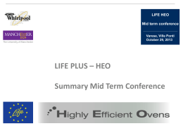 HEO MID TERM CONF