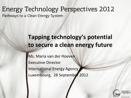 PPT - International Energy Agency