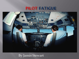 Pilot Fatigue powerpoint