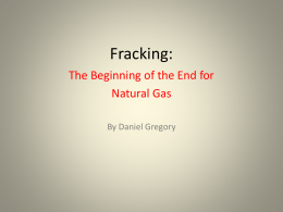 Fracking pollutes the environment.