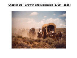 Chapter 10 powerpoint -Growth and Expansion