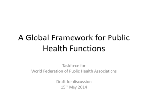 S1.9 Global Public Health Framework