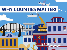 CountiesMatter - National Association of Counties