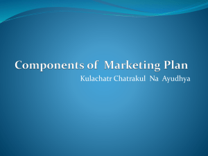 Marketing Plan (ppt.)