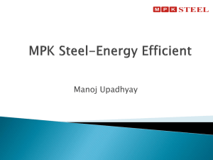 MPK Steel-Energy Efficient