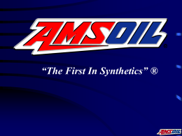 081814-ISO-AMSOIL - Performance Excellence Network