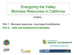 Presentation - Essential Elements for the Future of the San Joaquin