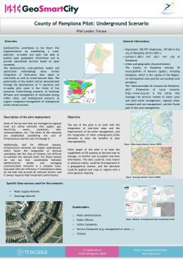 Specific Data sources used for the scenario