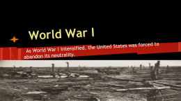 World War I - Cleveland History