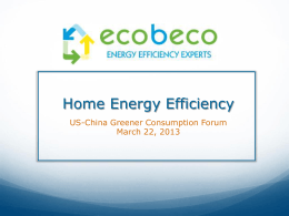 Ecobeco - Home Energy Efficiency