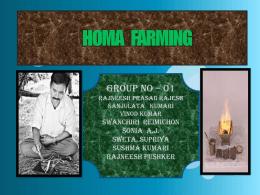homa farming presentation