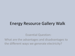 Energy Resources energy_resource_gallery_walk