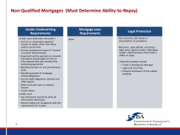 ICBA Quick Reference Charts: Ability-to