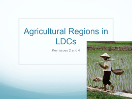 Agricultural Regions in LDCs