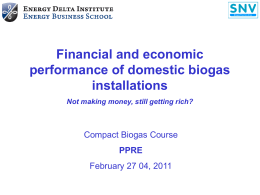 Economic and financial performanc []