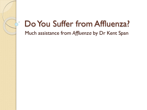 Do You Suffer from Affluenza