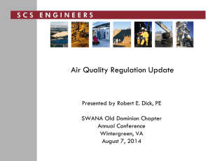 Air Quality Regulation Update_2014_Dick.
