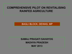 Bagli block, Dewas district, Madhya Pradesh (SPS
